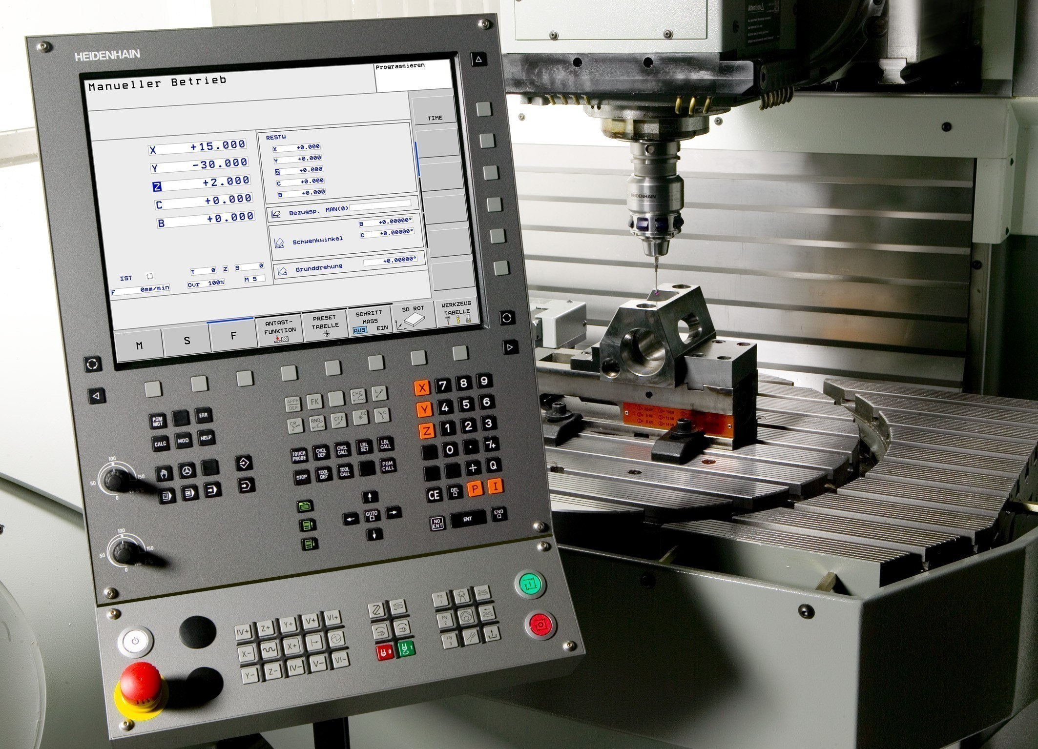Heidenhain Show Places Machine Tool Accuracy On Center Stage